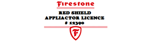 Firestone Red Shield Applicator License